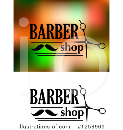 Barber Clipart #1258969 by Vector Tradition SM