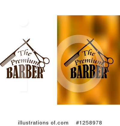 Barber Clipart #1258978 by Vector Tradition SM