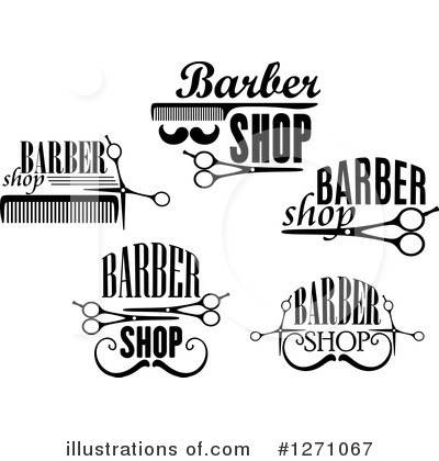 Barber Clipart #1271067 by Vector Tradition SM