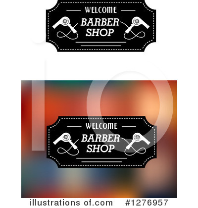 Barber Clipart #1276957 by Vector Tradition SM