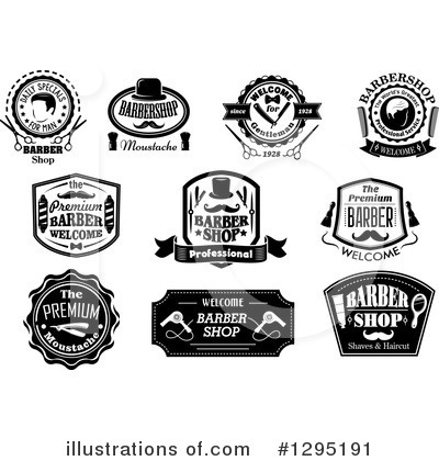 Barber Clipart #1295191 by Vector Tradition SM