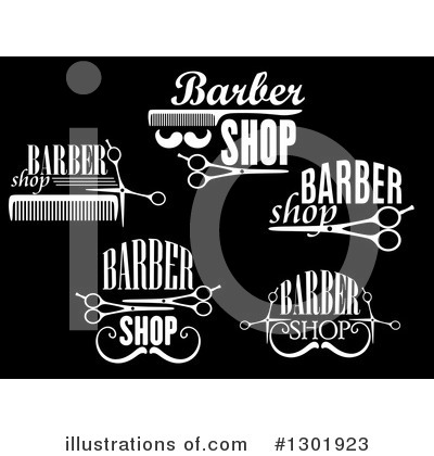 Barber Clipart #1301923 by Vector Tradition SM