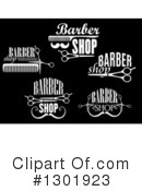 Barber Shop Clipart #1301923 by Vector Tradition SM