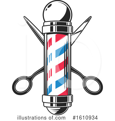 Barber Clipart #1610934 by Vector Tradition SM