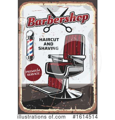Royalty-Free (RF) Barbershop Clipart Illustration by Vector Tradition SM - Stock Sample #1614514