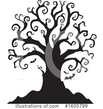 Tree Clipart #1605799 by visekart