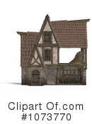 Royalty-Free (RF) Barn Clipart Illustration #1073770