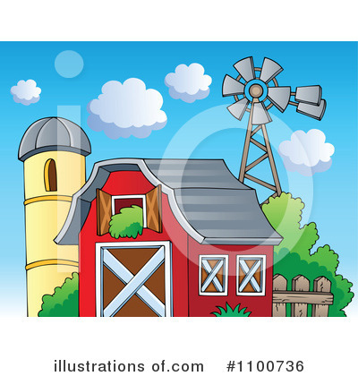 Windmill Clipart #1100736 by visekart