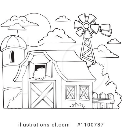 barn clipart 1100787 illustration by visekart