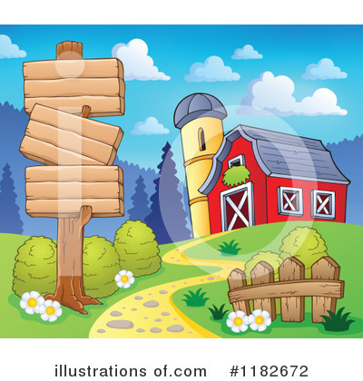 Farm Clipart #1182672 by visekart