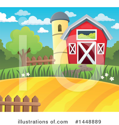 Farm Clipart #1448889 by visekart