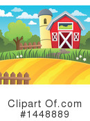 Barn Clipart #1448889 by visekart