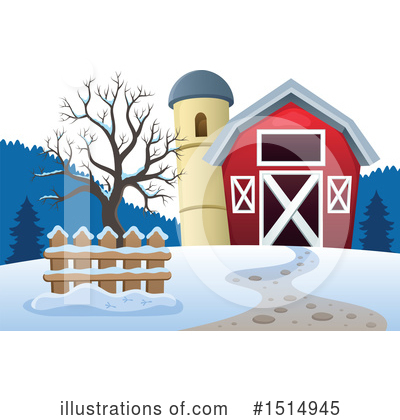 Farm Clipart #1514945 by visekart