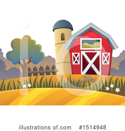 Farm Clipart #1514948 by visekart