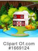Barn Clipart #1669124 by Graphics RF