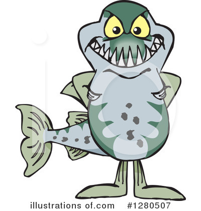 Fish Clipart #1280507 by Dennis Holmes Designs