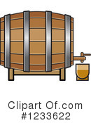 Royalty-Free (RF) Barrel Clipart Illustration #1233622