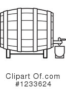 Royalty-Free (RF) Barrel Clipart Illustration #1233624