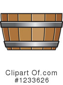 Royalty-Free (RF) Barrel Clipart Illustration #1233626