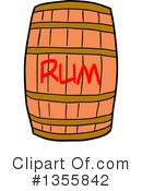 Barrel Clipart #1355842 by LaffToon