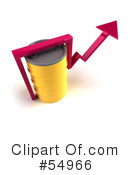 Royalty-Free (RF) Barrel Of Oil Clipart Illustration #54966