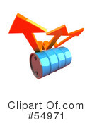 Royalty-Free (RF) Barrel Of Oil Clipart Illustration #54971