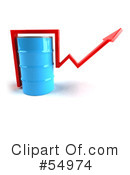 Royalty-Free (RF) barrel of oil Clipart Illustration #54974
