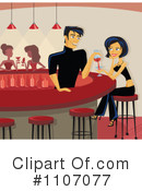 Royalty-Free (RF) bartender Clipart Illustration #1107077
