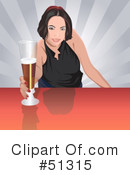 Royalty-Free (RF) Bartender Clipart Illustration #51315