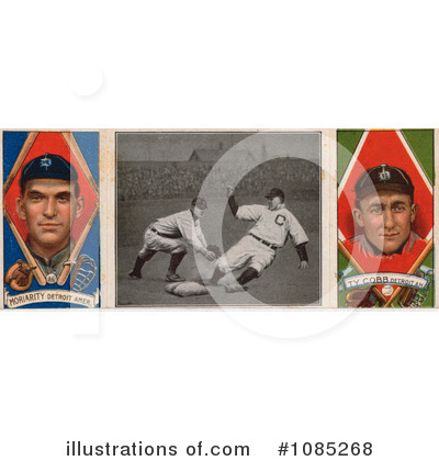 Ty Cobb Clipart 1086386 Illustration By Jvpd