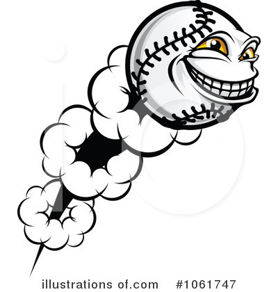 Baseball Clipart #1061747 by Vector Tradition SM