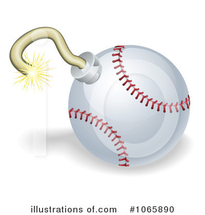 Softball Clipart #1065890 by AtStockIllustration