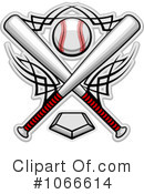 Royalty-Free (RF) Baseball Clipart Illustration #1066614
