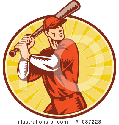 Baseball Clipart #1087223 by patrimonio