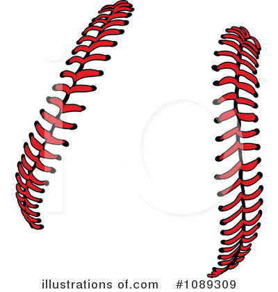 Softball Clipart #1089309 by Chromaco