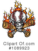 Baseball Clipart #1089923 by Chromaco