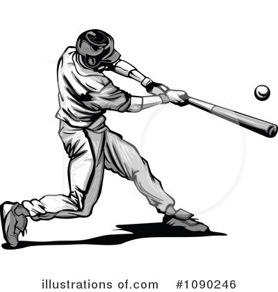 Baseball Clipart #1090246 by Chromaco