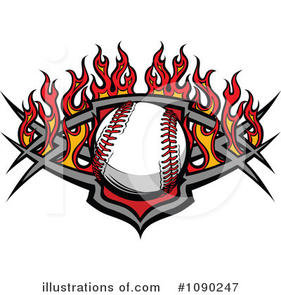 Softball Clipart #1090247 by Chromaco