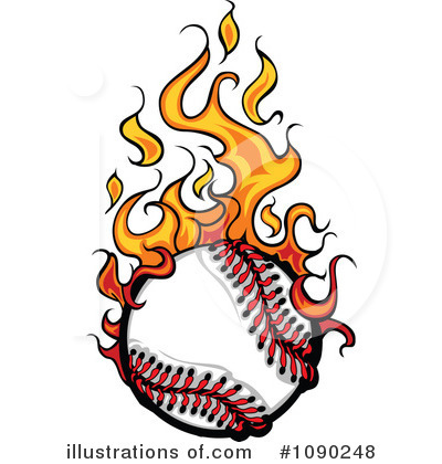 Softball Clipart #1090248 by Chromaco