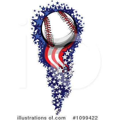 Softball Clipart #1099422 by Chromaco