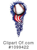 Royalty-Free (RF) Baseball Clipart Illustration #1099422