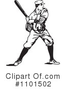 Royalty-Free (RF) Baseball Clipart Illustration #1101502