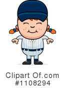 Royalty-Free (RF) Baseball Clipart Illustration #1108294