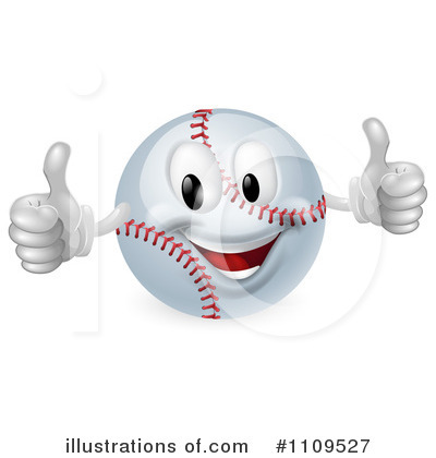 Softball Clipart #1109527 by AtStockIllustration