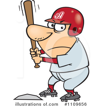 Baseball Clipart #1109656 by toonaday