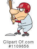 Royalty-Free (RF) Baseball Clipart Illustration #1109656