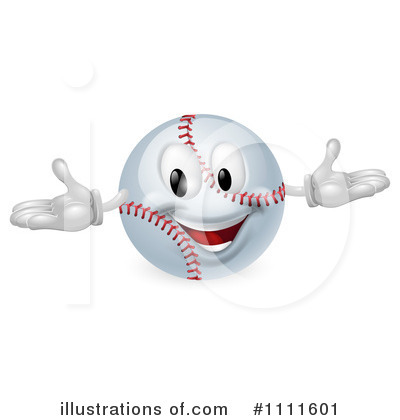 Softball Clipart #1111601 by AtStockIllustration