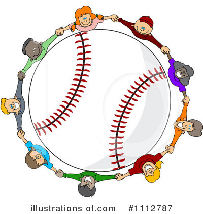 Royalty-Free (RF) Baseball Clipart Illustration by djart - Stock Sample #1112787