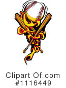 Royalty-Free (RF) Baseball Clipart Illustration #1116449