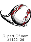 Royalty-Free (RF) Baseball Clipart Illustration #1122129